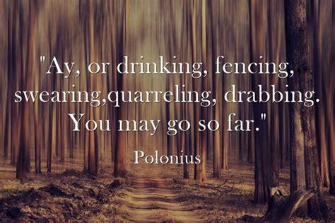 act  scene      quote fits  historicism  polonius  talking