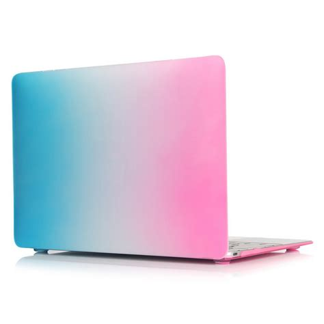 Macbook Pro 13 Inch Pink Metallic rubberized laptop shell for macbook air pro