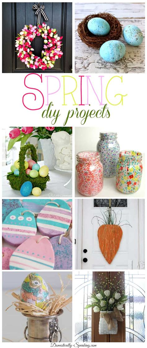 spring diy projects 8 spring diy projects friday features domestically