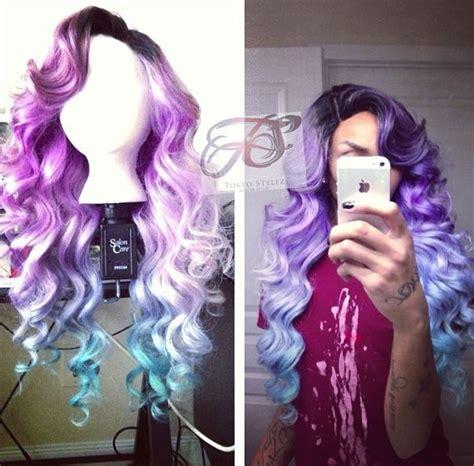 tokyo stylez hair wig purple ombre tokyo stylez hair pinterest purple