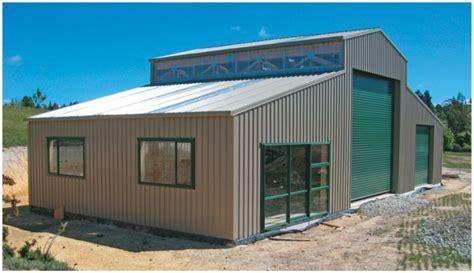 building  pole shed nz storage shed maker