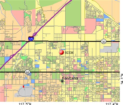 map of fontana ca 92336 zip code fontana california profile homes