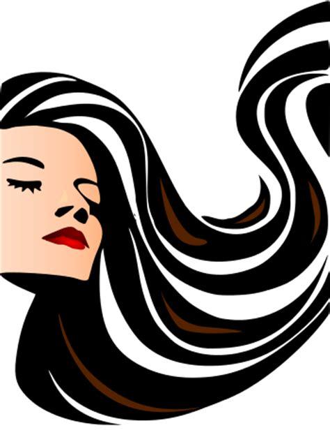 hair flowing   /people/female/hair style/hair flowing.png.html