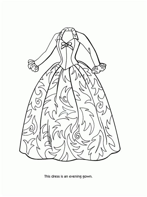 Fashion Design Coloring Pages Free Coloring For 2018 - Arsip.tembi.net