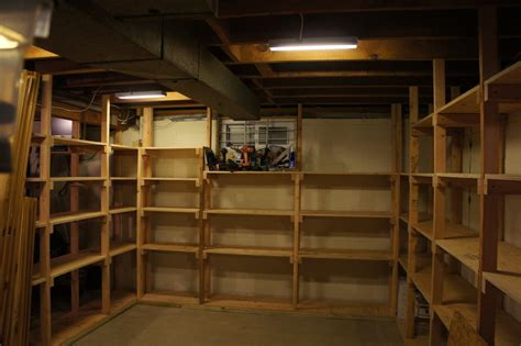 basement shelves by andy panko lumberjocks