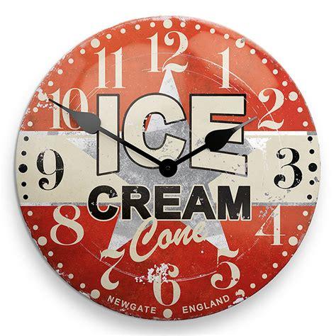 retro kitchen wall clocks best decor things