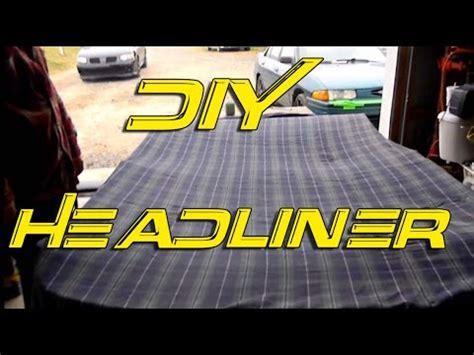 Interior Car Roof Repair Diy Custom Headliner Headliner Repair Custom Interior