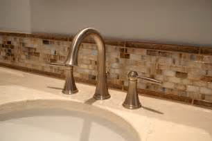 bathroom sink backsplash ideas what size tile spacers for bathroom floor home willing ideas