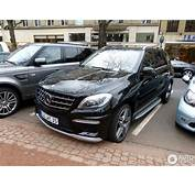 Mercedes Benz ML 63 AMG W166  3 April 2013 Autogespot