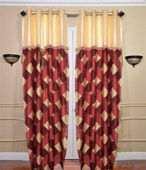 fancy door curtains sai arpan fancy rust door curtain buy sai arpan fancy