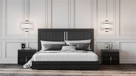 modrest ari italian modern grey nightstand