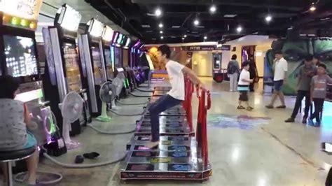 Larasati Maxi Gamis Bangkok fast ddr chion at mbk mall arcade in bangkok