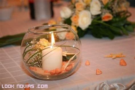 adornos de mesa para bodas con velas centros de mesa con velas