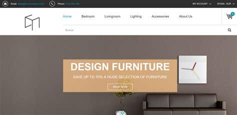 tienda online muebles dise o dise 241 o para una tienda online de muebles y decoraci 243 n