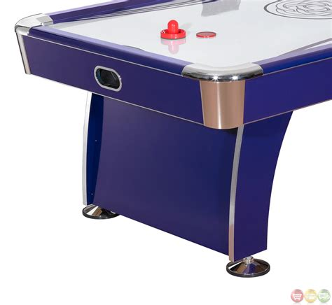electric air hockey table carmelli ng1038h phantom 89 quot premium electric air hockey table