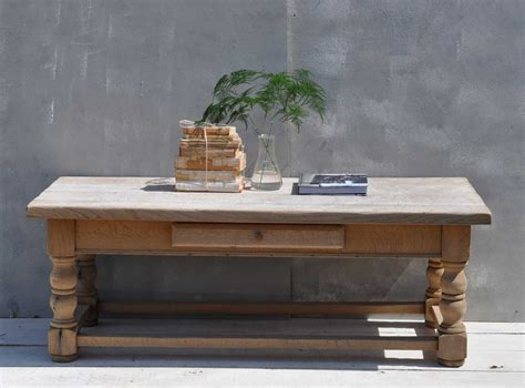 vintage coffee tables solid oak weathered vintage coffee table home barn vintage