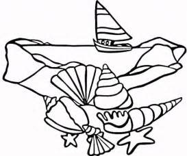 seashell coloring pages printable seashell coloring pages coloring home