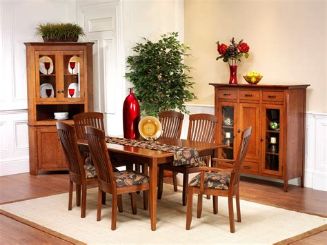 Shaker Style Dining Room Furniture Newport Shaker Dining Room Amish Furniture Designed