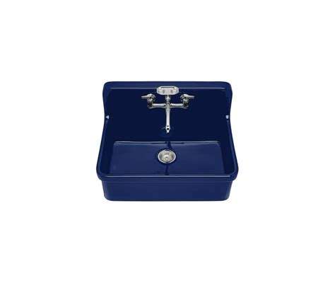 Cobalt Blue Kitchen Sink Faucet K 12701 47 In Almond By Kohler