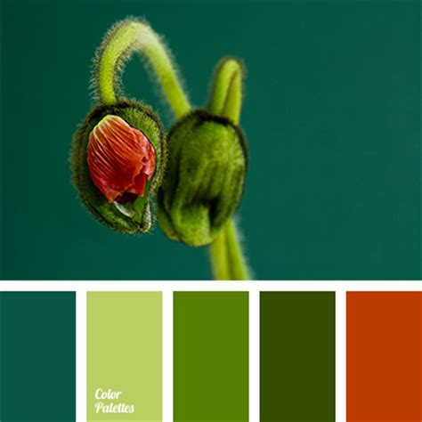 red and green color combination green with a hint of dark blue color palette ideas