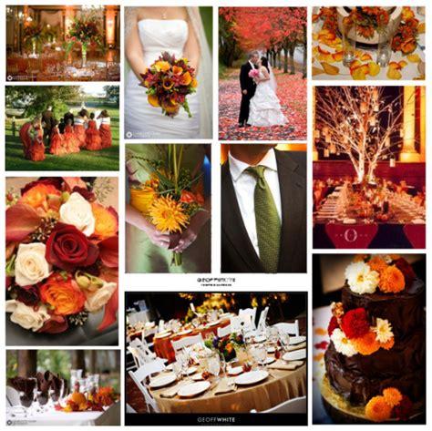 wedding colour themes autumn autumn wedding colours and theme ideas natasha wiggins