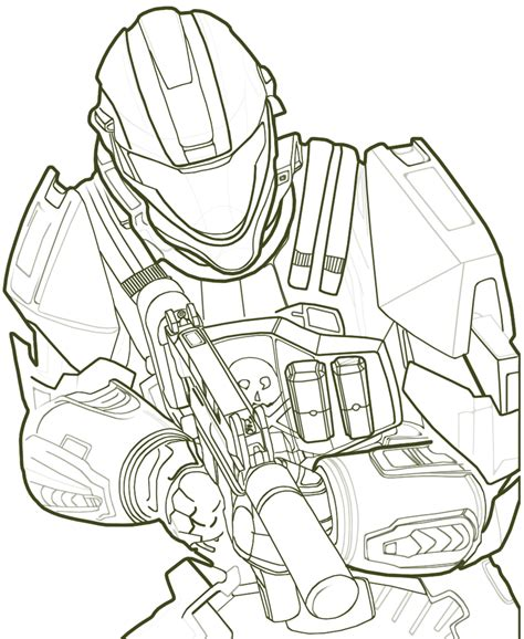 Spartan Coloring Pages free printable halo coloring pages for