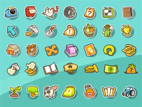design icon game game icon set mirjami manninen finnish illustrator