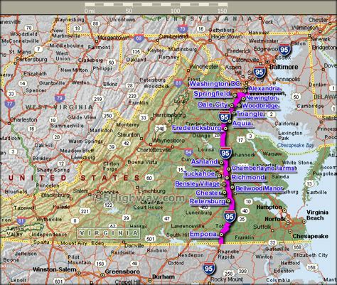 road map of virginia usa virginia counties road map usa