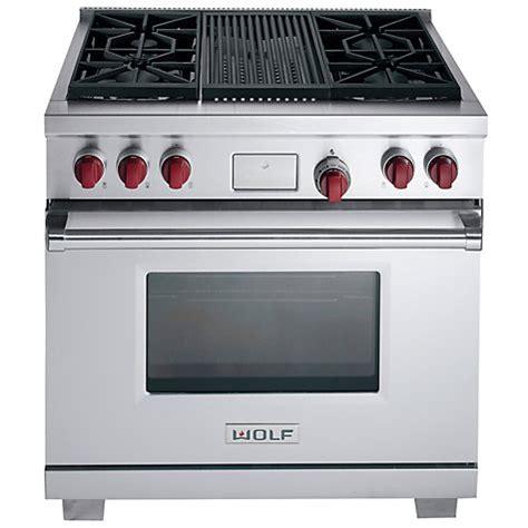 Wolf Kitchen Appliances Australia by Buy Wolf Icbdf364c Dual Fuel Range Cooker Stainless Steel