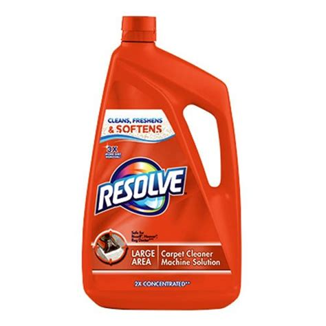 resolve rug cleaner resolve carpet cleaner for steam machines 48 ounce make yourself familiar with honest consumer