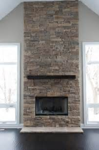 Fireplace Ideas With Stone Ledge Stone Fireplaces Album 2 Traditional Chicago