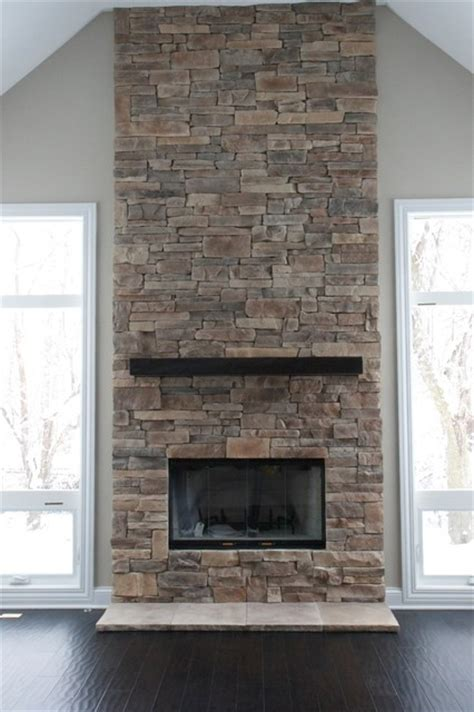 rock fireplace ideas ledge fireplaces album 2 traditional chicago by