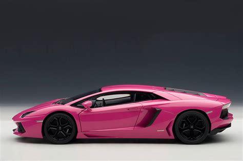 Pink Lamborghini Pink Lamborghini Aventador Scale Model Autoevolution