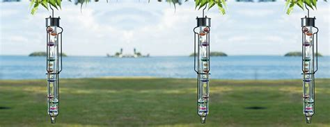 Hang On Glass Termometer 12cm outdoor galileo thermometer the green
