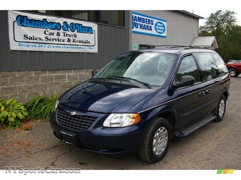 2003 Chrysler Voyager Lx by 2003 Chrysler Voyager Lx In Midnight Blue Pearl 315705
