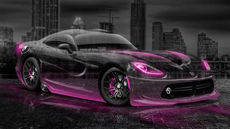 green and black viper dodge viper srt city car 2014 el tony