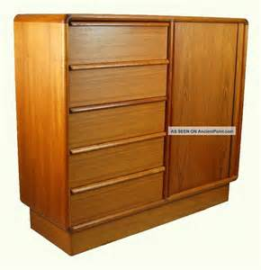 teak bedroom furniture kibaek mobelfabrik danish modern teak wardrobe dresser tambour door bedroom furniture reviews