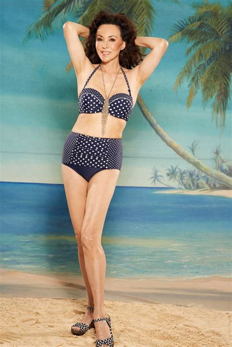 swimsuits for 60 year old women marie helvin still fabulous in a bikini at 59 years old