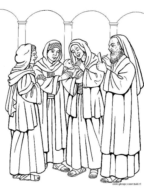 coloring pages john the baptist birth 1000 images about bible nt john the baptist on pinterest