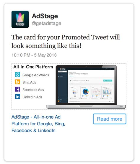 card website how to create website cards for ads the adstage