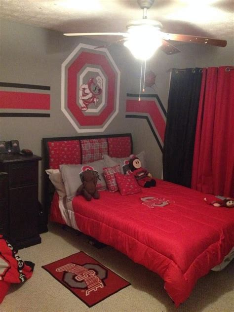 ohio state bedroom ohio state bedroom ideas hallow keep arts