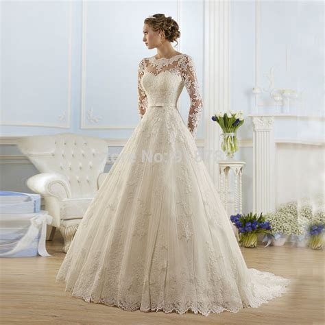 Wedding Gown Fabulosity On A Budget by Aliexpress Buy 2016 Sale Beautiful Lace Wedding