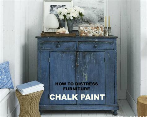 Chalk Paint How To Distress Furniture My Sugar Tart