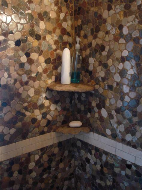 river stone bathroom river stone new jersey custom tile