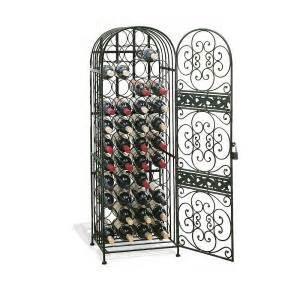 Wine Enthusiast Renaissance Wrought Iron Wine 634 45