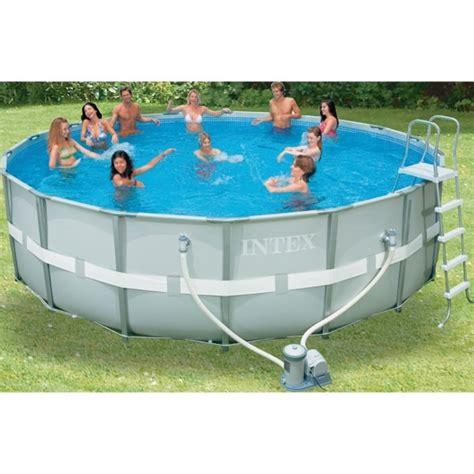 piscine autoportée intex 1099 dedeman piscina ultra frame 549x132cm 54926 dedicat