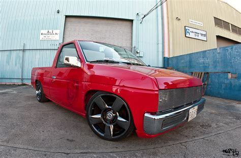 nissan hardbody lowered custom any info on this truck infamous nissan hardbody
