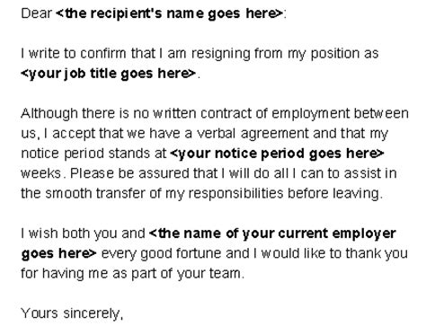 Quit Contract Letter Tips On Writing A Letter Of Resignation Professionallybusinessprocess