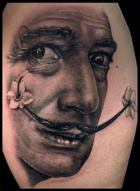 salvador dali tattoos city salvador dali and dallas on