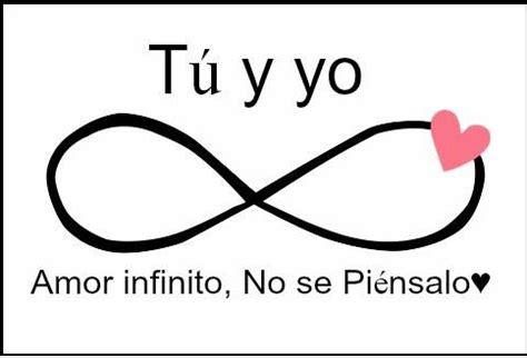 imagenes de infinito y mas aya todo en frases tu y yo amor infinito